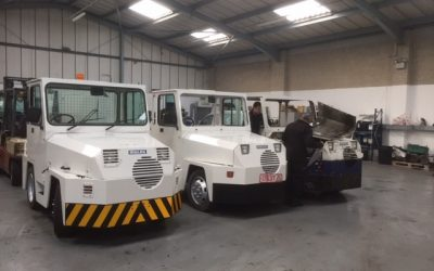 Bradford Workshops First Tractor Refurbishment